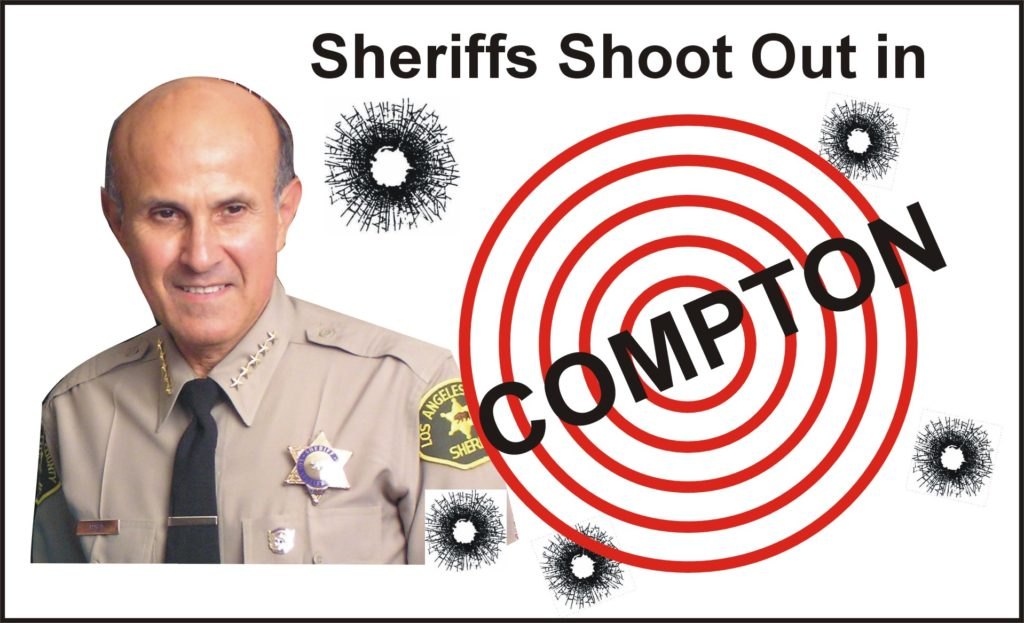 Sheriff Compton Shoot Out