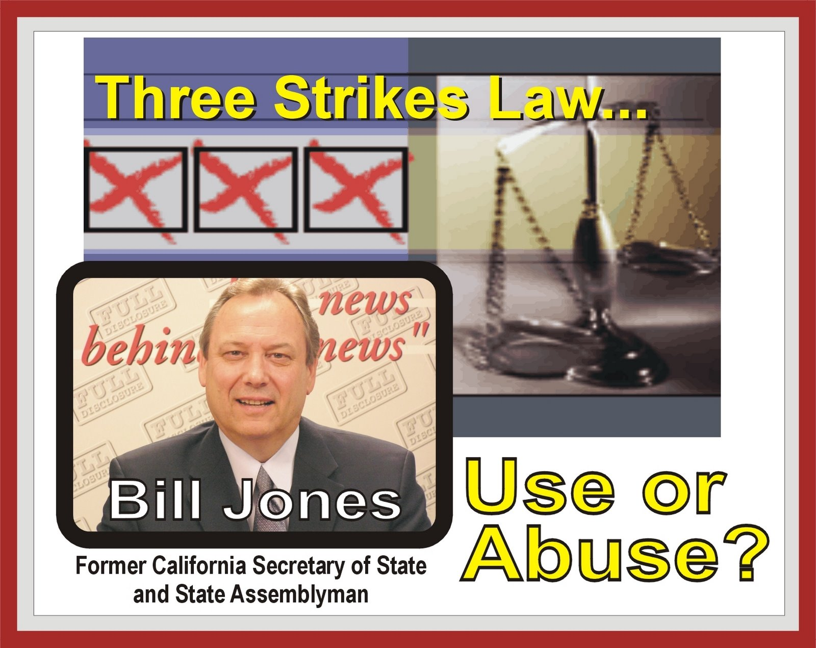 an analysis of the three strikes law in california 10 reasons to oppose 3 strikes law enforcement professionals oppose the 3 strikes law out of fear such laws would spur a three strikes laws will make a.