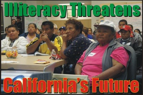 US Literacy Plunges... California dLowest
