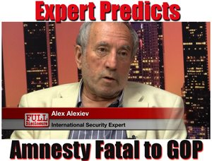 International Security Expert Alex Alexev Alarmed at Amnesty Proposal