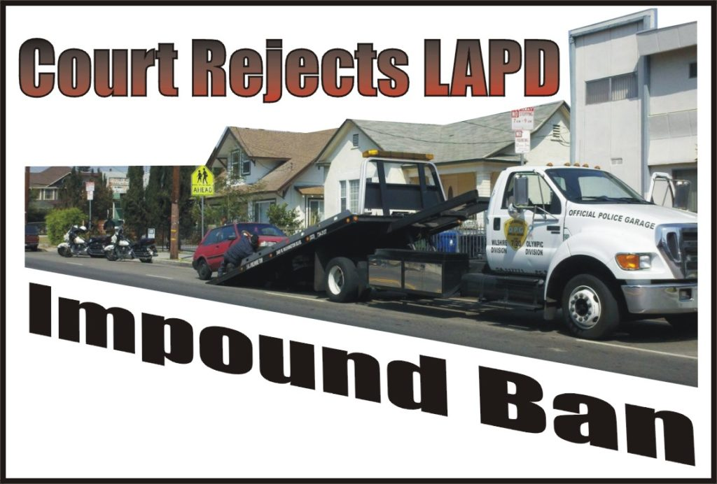 VB122 Orfanedes on LAPD Impound